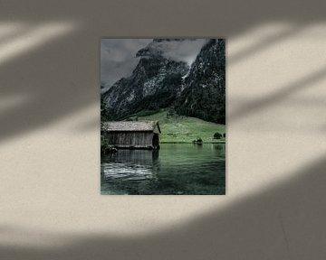 Königssee Bootshaus von domiphotography