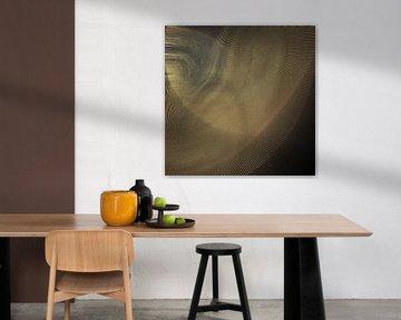 Traitement d'image Gold Brown sur Carla van Zomeren