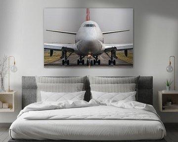 Head to head with Boeing 747. van Patrick Vercauteren