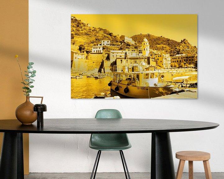 Sfeerimpressie: Cinque Terre Italie Goud van Hendrik-Jan Kornelis