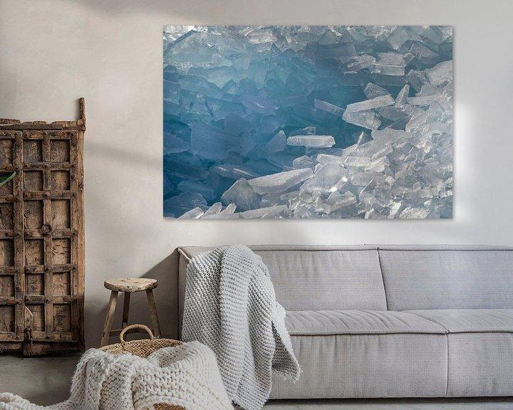 Sfeerimpressie: Een berg kruiend ijs van Barbara Brolsma