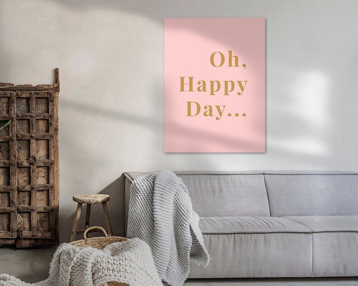 Sfeerimpressie: Oh, Happy Day... van MarcoZoutmanDesign