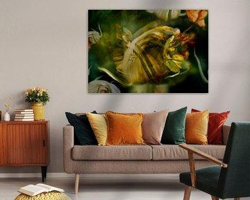 Kleine Fee Blume Busch Mann von John Quendag