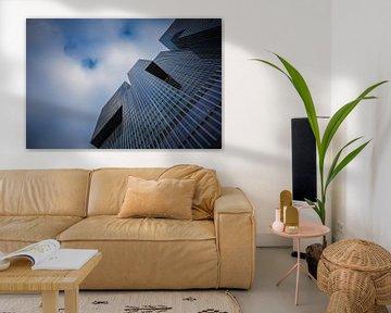 Perspectief van De Rotterdam van Wim Brauns
