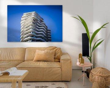 Modern appartementencomplex van Wim Brauns
