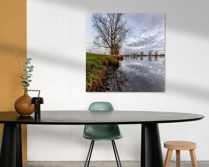 Impression: La rivière Maas près de Linden sur Anneke Hooijer