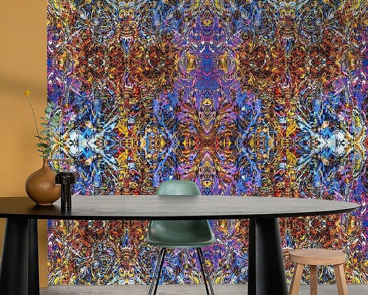 Sfeerimpressie behang: Autumn Reflection van Frans Blok