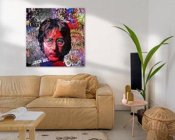 John Lennon von Rene Ladenius Digital Art