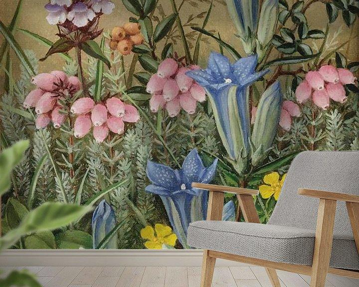 Beispiel fototapete: Wilde Blumen von Antonije Lazovic