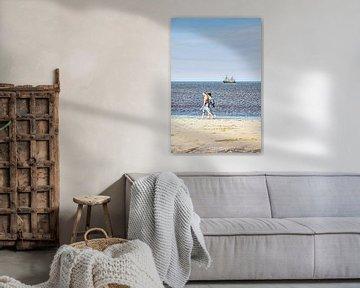 Strand Noordwijk aan Zee Nederland van Hendrik-Jan Kornelis