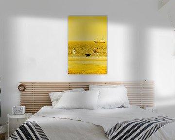 Gouden Strand Noordwijk aan Zee Nederland van Hendrik-Jan Kornelis