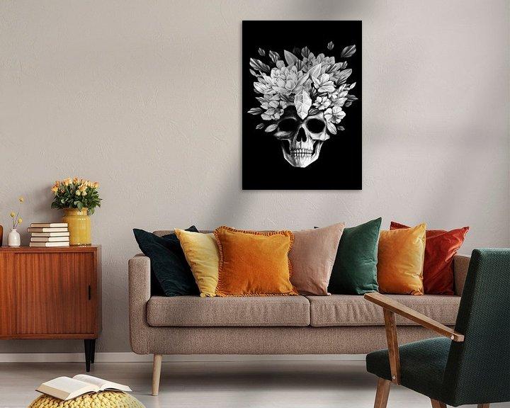 Sfeerimpressie: Preety Skull van Darkroom.ink