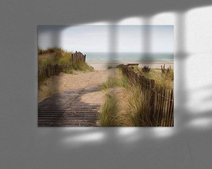 Sfeerimpressie: duinen met zicht op zee van Klaartje Majoor