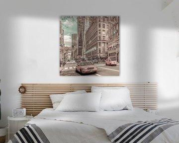 MANHATTAN 5th Avenue | urban vintage style van Melanie Viola