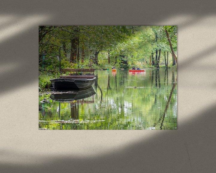 Sfeerimpressie: Aan de Spree in het Spreewald bij Lübbenau van Animaflora PicsStock