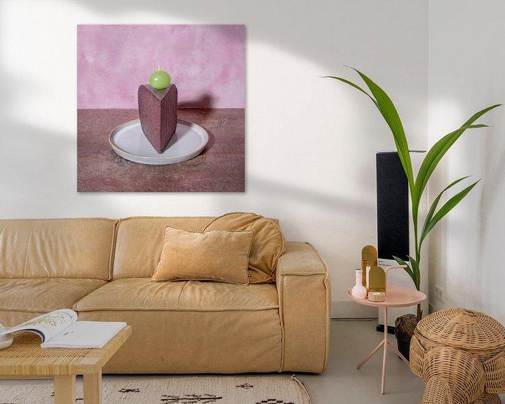 Sfeerimpressie: A piece of cake l Door Pop art geïnspireerd still leven met kaas l Food fotografie van Lizzy Komen