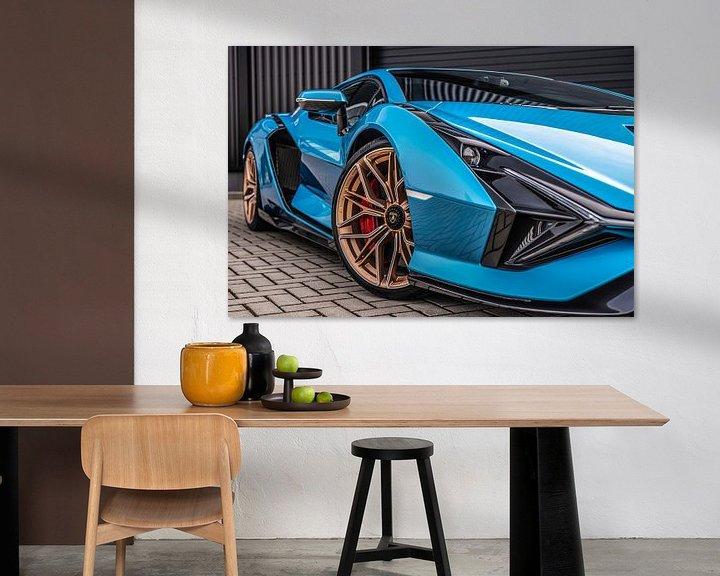 Sfeerimpressie: Lamborghini Sián van Bas Fransen