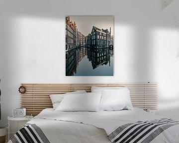 Amsterdam reflection van Roy Mandersloot