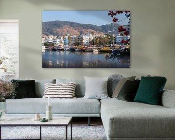 Der Hafen von Kos von Sharon de Groot