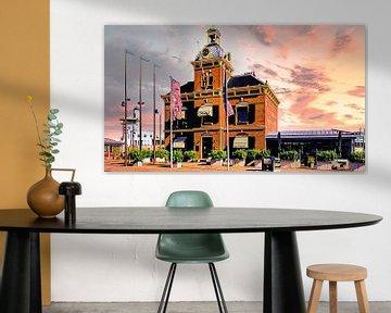 Ehemaliges Gerichtsgebäude Harlingen von Digital Art Nederland
