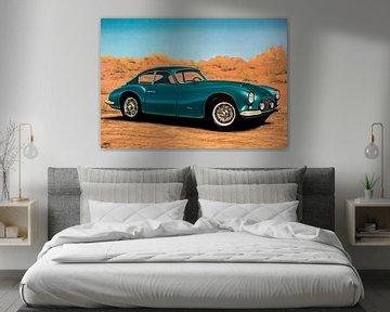 Fiat 8V Elaborata Zagato 1952 Schilderij