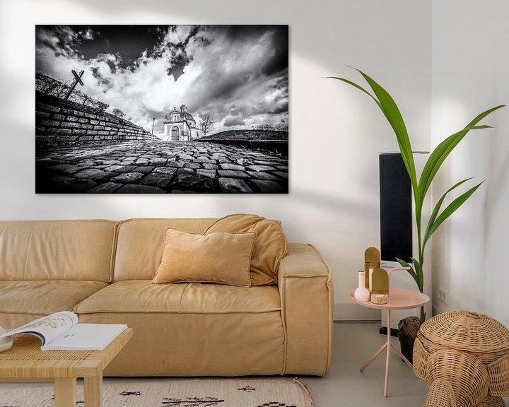 Sfeerimpressie: De Muur van Geraardsbergen van Jim De Sitter