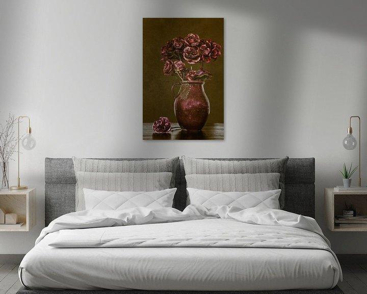 Sfeerimpressie: Stilleven bloemen in vaas van Jessica Berendsen