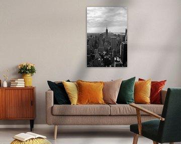 New York City Skyline van Moats Design