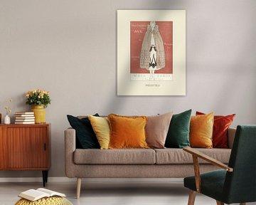 Irrésistible - Historischer Art-Deco-Mode-Druck von NOONY
