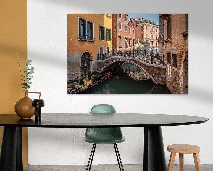 Beispiel: Brücke in Venedig von Arja Schrijver Fotografie