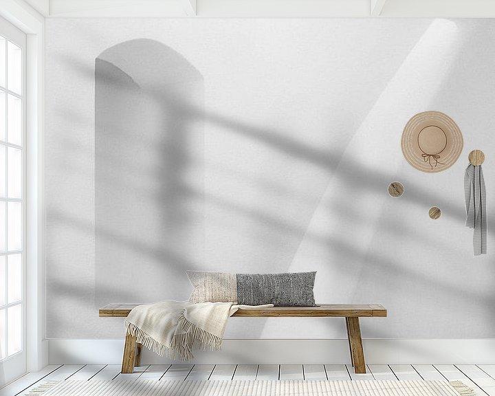 Impression: Nature morte abstraite, photo de l'intérieur d'une maison construite dans le style grec, en Turquie. sur Eyesmile Photography