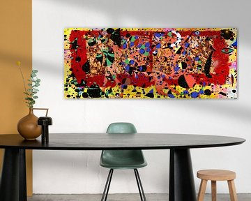 Matisse Miro Rothko Pollock und Zanolino Kunstparty von Giovani Zanolino