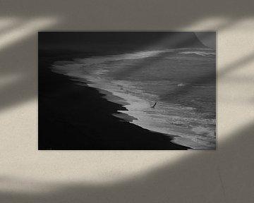 Zwart-wit strand sur Louise Poortvliet