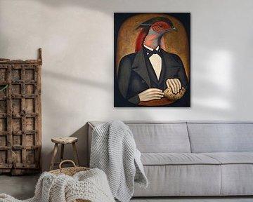 Portrait of a Father von Marja van den Hurk