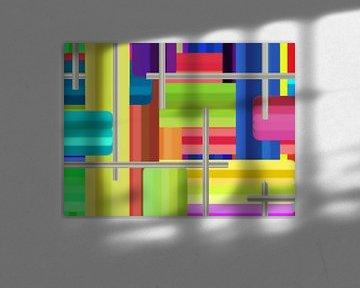 bunte Streifen von Greta Lipman