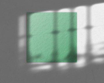 Grünes Wellenmuster von Nicole