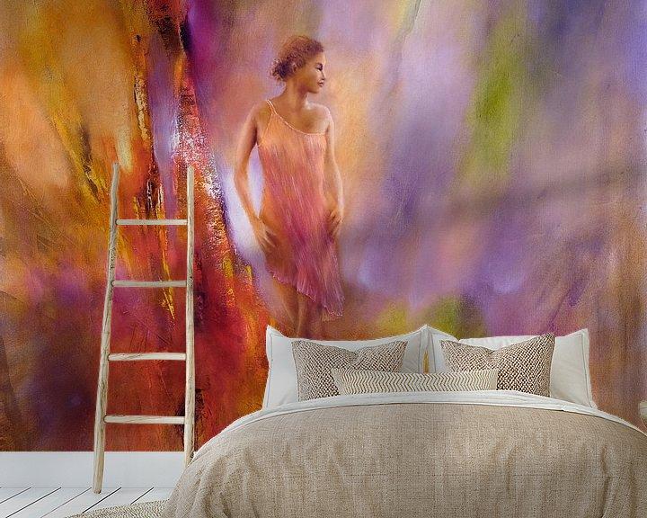 Sfeerimpressie behang: In het licht van Annette Schmucker