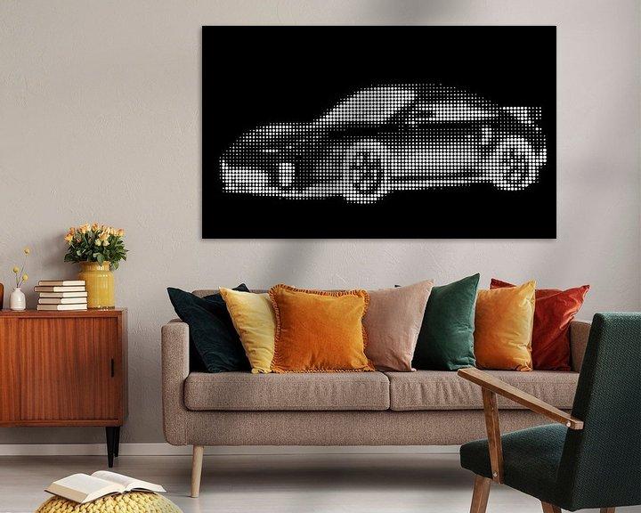 Beispiel: Porsche 911 Kunst von Jessica Berendsen