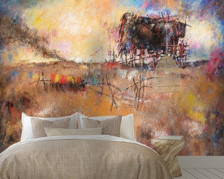 Sfeerimpressie behang: The Bull - Hans Sturris van Galerie Ringoot