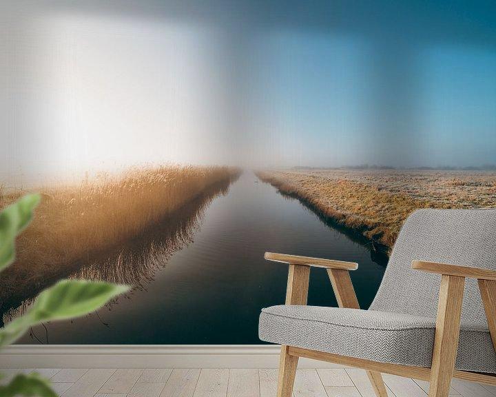 Impression: Middelburg, un lever de soleil froid 1 sur Andy Troy