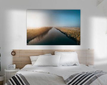 Middelburg cold sunrise 1 van Andy Troy