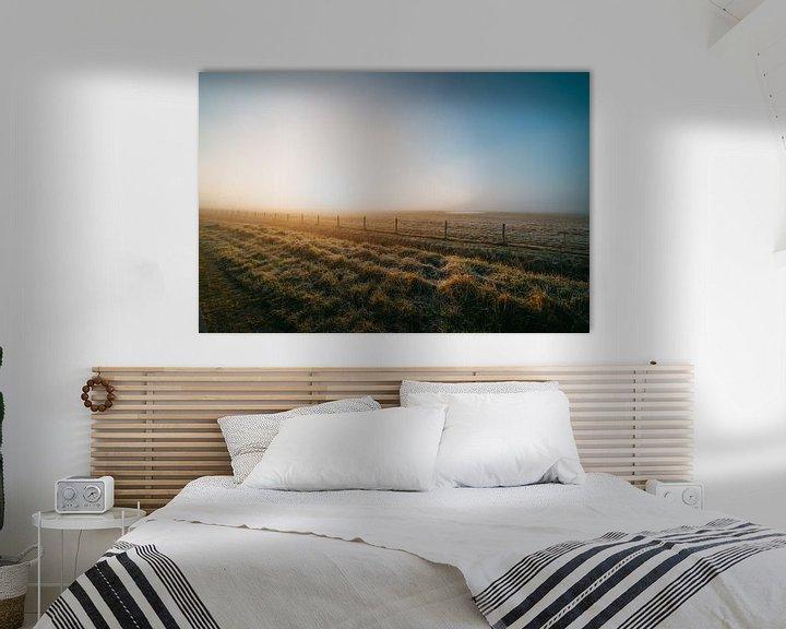 Impression: Middelburg, un lever de soleil froid 2 sur Andy Troy