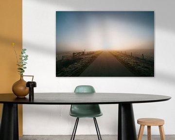 Middelburg cold sunrise 3 van Andy Troy