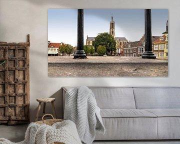 La ville de Hulst en Flandre zélandaise