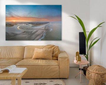 De Slufter Texel met prachtige zonsopkomst van Texel360Fotografie Richard Heerschap