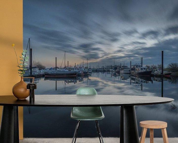 Sfeerimpressie behang: Jachthaven van Moetwil en van Dijk - Fotografie