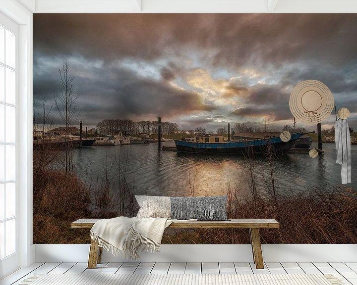 Sfeerimpressie behang: Haven van Moetwil en van Dijk - Fotografie