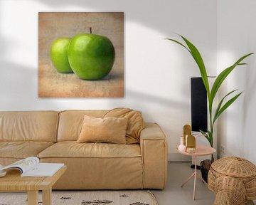 Zwei Äpfel von Andreas Berheide Photography