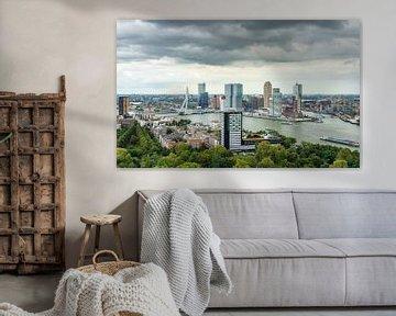 Skyline Rotterdam - Kop van Zuid van Mister Moret Photography