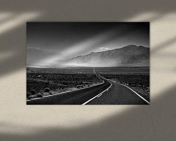 Sandstorm on the highway